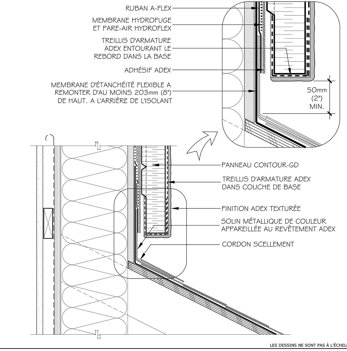 Adex-rs-fr-9a-1-jonction-toit-et-mur-toit-en-pente