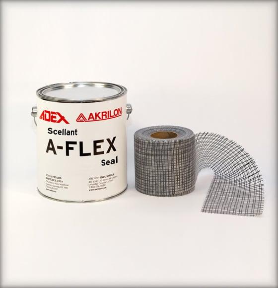 Scellant et treillis A-Flex